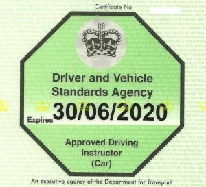 DVSA Approved Driving Instructor in Worcester