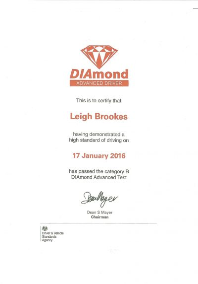 Diamond Advanced Test
