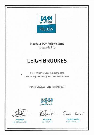 IAM Fellow